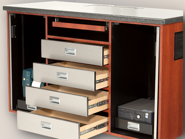 3834ESC: Self-Closing Drawer Slides