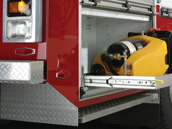 9308 drawer slides for Emergency Vehicles