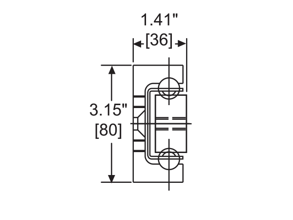 AL4120: Super Heavy-Duty Slides Cross Section