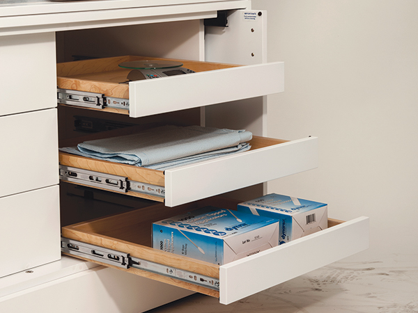 3832DO Detent Out Drawer Slide