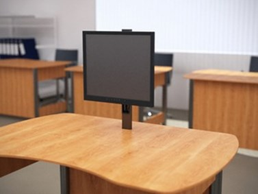 Mechanical Screen Lift for Classrooms