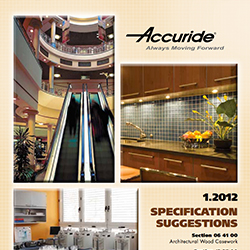 Architectural Specification Suggestions-2012