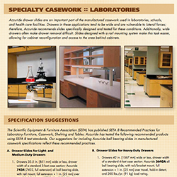 Specialty Casework: Laboratories