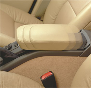Flat-Mounted Sliding System for Armrests
