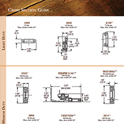 Woodworking Cross Section Guide