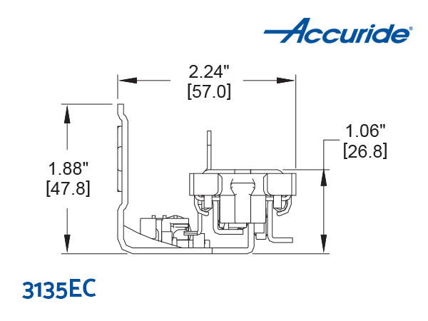 3135EC Undermount Cross Section
