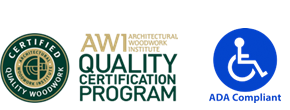 AWI quality certification program  ADA compliant