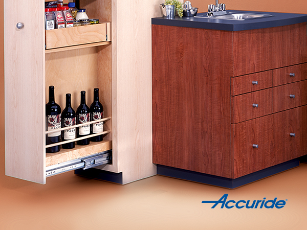 Heavy Duty Pantry drawer slides | Accuride 9301