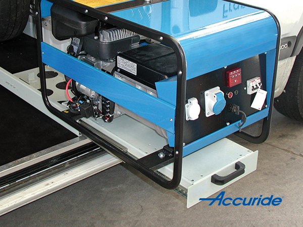 Heavy Duty Industrial storage drawer slide | Accuride 9301