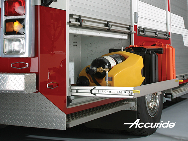 600lbs Heavy Duty Slides for drawers in Mobile and Emergency vehicles