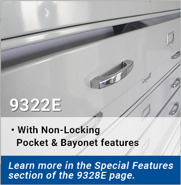 9322E - With Non-Locking Pocket & Bayonet features