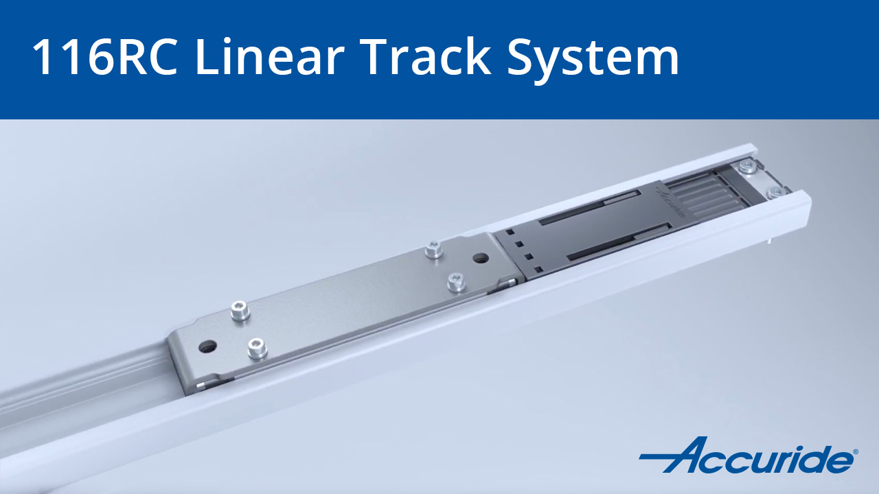 116RC Heavy-Duty Linear Track System
