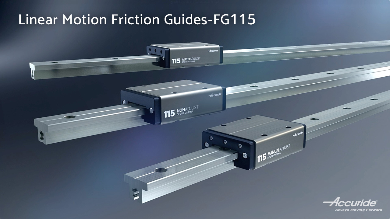 FG115:Linear Motion Friction Guides