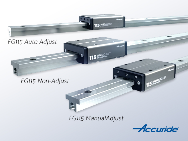 FG115 - Accuride Frcition Guides in three variants