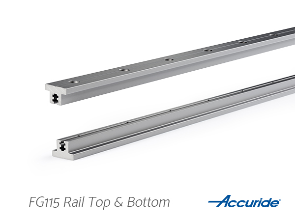 FG115 Friction Guide Rail Top & Bottom