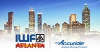 Accuride International to Showcase Selection of Innovative, Dependable Movement Solutions at IWF 2018 – Booth #604