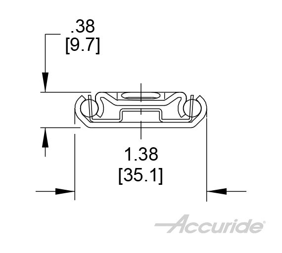 Light-Duty Undermount Slide with Disconnect