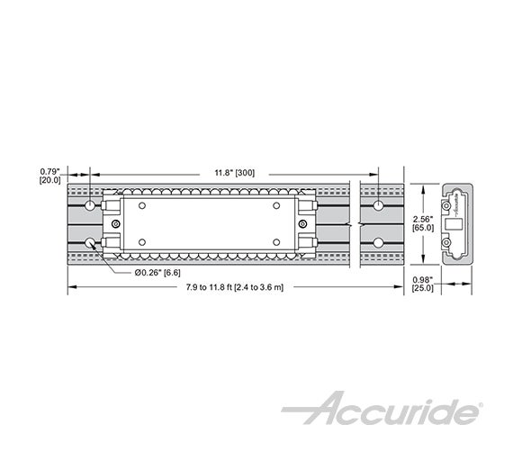 Heavy-Duty Linear Track System