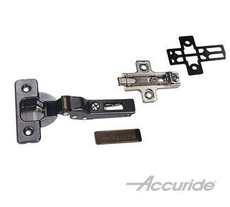 35mm Black Hinge Kit for Inset Doors