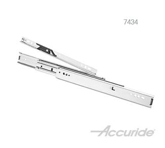 Light-Duty Over-Travel Slide with Rail-Mounting and Progressive Movement