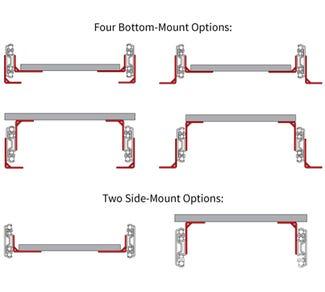 Platform Bracket Kits for 9300 Series