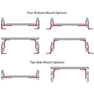 Platform Bracket Kits for 9300 Series