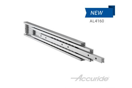 Super Heavy-Duty, Corrosion-Resistant, & Full-Extension Aluminum Slide