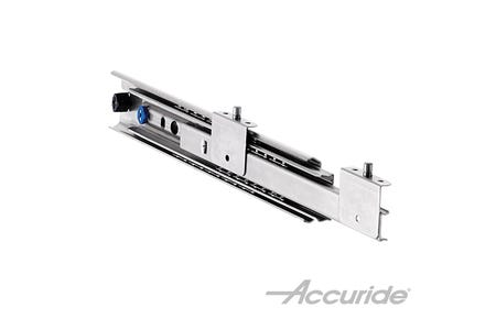 Heavy-Duty Over-Travel and Corrosion-Resistant Slide with Bracket Disconnect