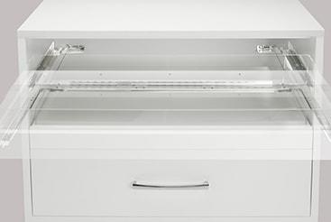 drawer width