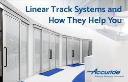Linear Motion Track Systems: 115RC & 116RC