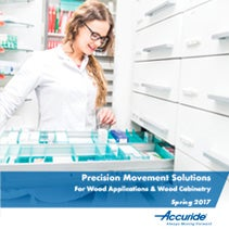 Precision movement Solutions Wood Applications & Wood Cabinetry 2018